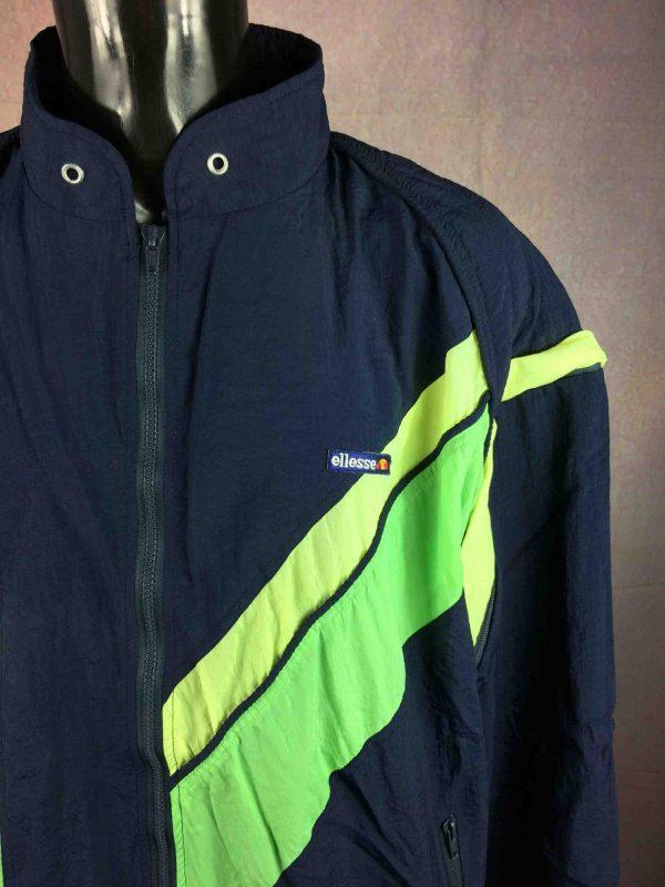ELLESSE Jacket Vintage 90s Removable Sleeves Gabba Vintage 2 scaled - ELLESSE Veste Vintage 90s Removable Sleeves