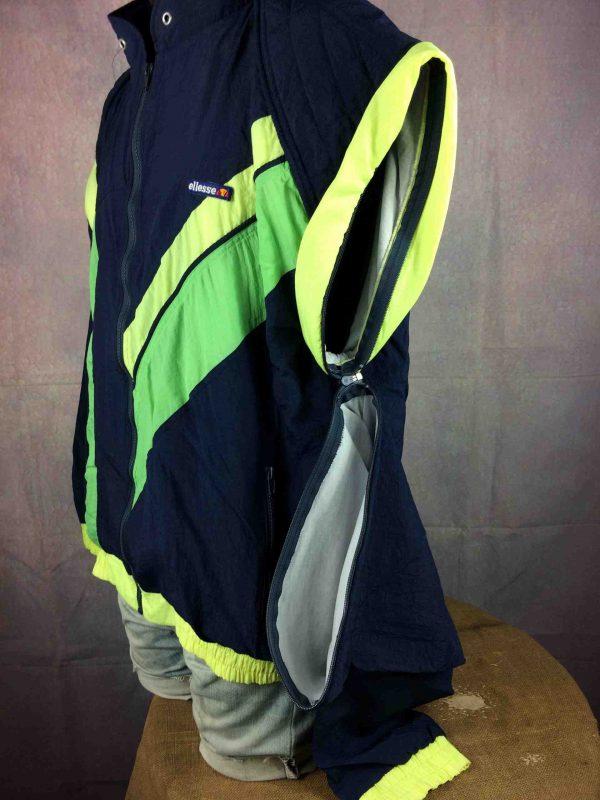 ELLESSE Jacket Vintage 90s Removable Sleeves Gabba Vintage 5 scaled - ELLESSE Veste Vintage 90s Removable Sleeves