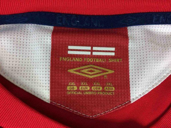 ENGLAND Jersey Umbro Lampard 8 2006 2008 Gabba Vintage 1 scaled - LAMPARD Maillot 8 England Umbro 2006 Football