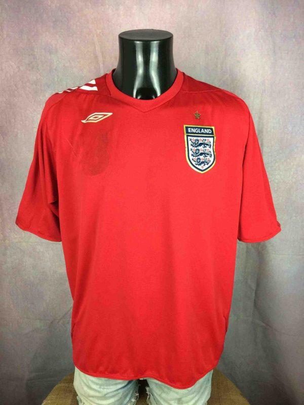 ENGLAND Jersey Umbro Lampard 8 2006 2008 Gabba Vintage 2 scaled - LAMPARD Maillot 8 England Umbro 2006 Football