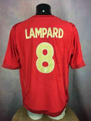 ENGLAND Jersey Umbro Lampard #8 2006 2008 - Gabba Vintage