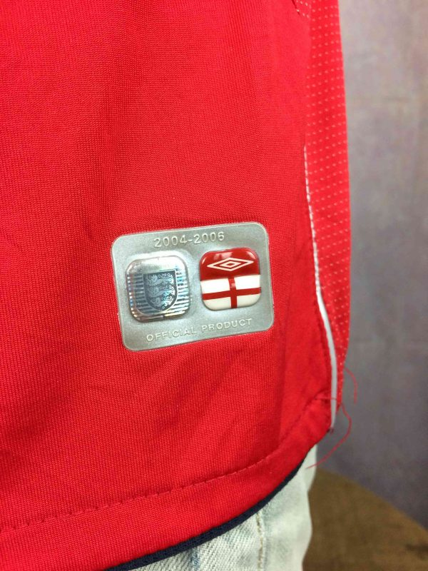 ENGLAND Jersey Umbro Rooney 9 2004 2006 Gabba Vintage 1 scaled - ENGLAND Jersey Umbro Rooney #9 2004 2006