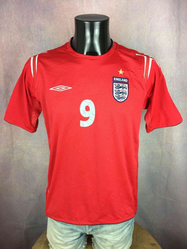 ENGLAND Jersey Umbro Rooney 9 2004 2006 Gabba Vintage 2 scaled - ENGLAND Jersey Umbro Rooney #9 2004 2006
