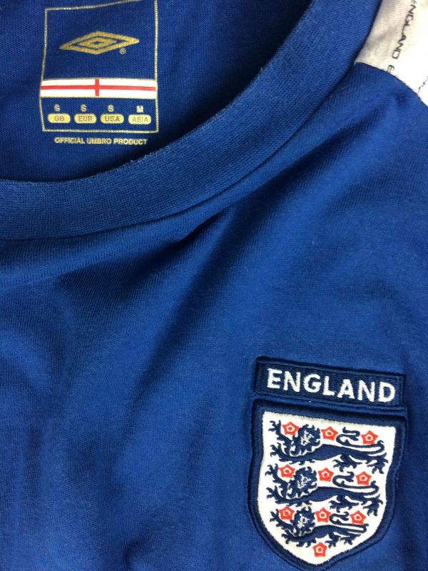 ENGLAND T Shirt Umbro Official Football 1 scaled - ENGLAND T-Shirt Umbro Official Football