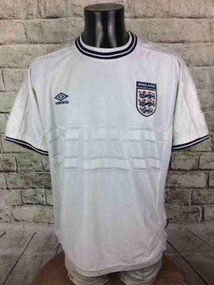 ENGLAND Team Jersey Umbro 1999 2001 Euro Cup - Gabba Vintage