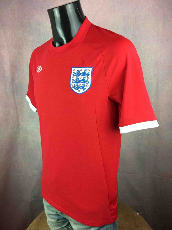 ENGLAND Team Jersey Umbro World Cup 2010 Gabba Vintage 3 scaled - ENGLAND Team Maillot Umbro World Cup 2010