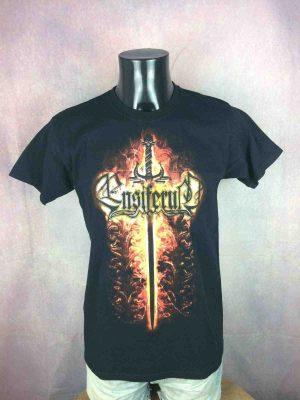 ENSIFERUM T-Shirt Sword Fire Death Metal - Gabba Vintage (2)