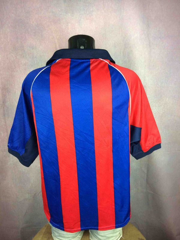 FC BARCELONA Jersey Home 2001 2002 Replica Gabba Vintage 1 scaled - FC BARCELONE Maillot Home 2001 Replica Foot