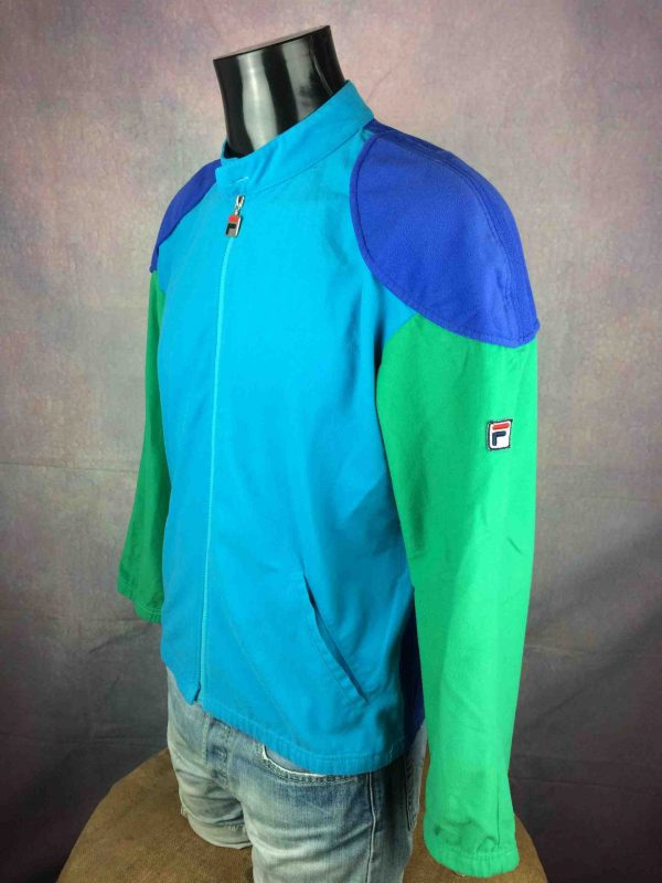 FILA Jacket Vintage 90s Made in Italy Tennis Gabba Vintage 3 scaled - FILA Veste Vintage 90s Made in Italy Tennis