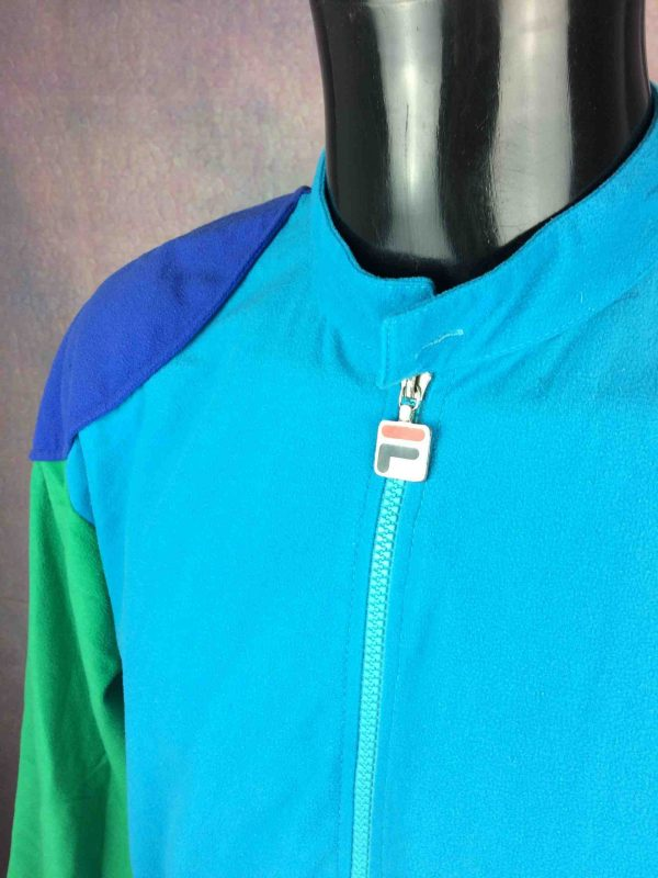 FILA Jacket Vintage 90s Made in Italy Tennis Gabba Vintage 4 scaled - FILA Veste Vintage 90s Made in Italy Tennis