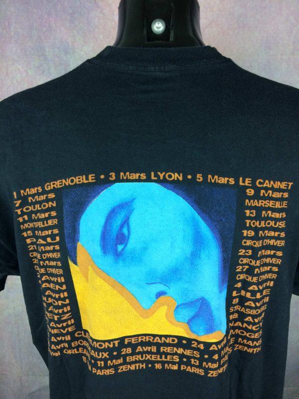 FLORENT PAGNY T Shirt Tour 1998 Savoir Aimer Gabba Vintage 1 scaled - FLORENT PAGNY T-Shirt Tour 1998 Savoir Aimer