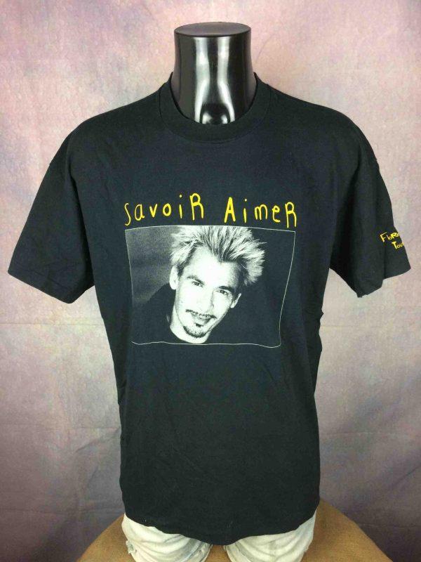 FLORENT PAGNY T Shirt Tour 1998 Savoir Aimer Gabba Vintage 2 scaled - FLORENT PAGNY T-Shirt Tour 1998 Savoir Aimer