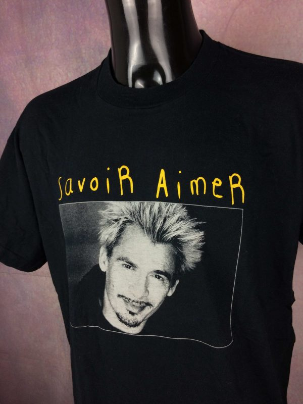 FLORENT PAGNY T Shirt Tour 1998 Savoir Aimer Gabba Vintage 3 scaled - FLORENT PAGNY T-Shirt Tour 1998 Savoir Aimer