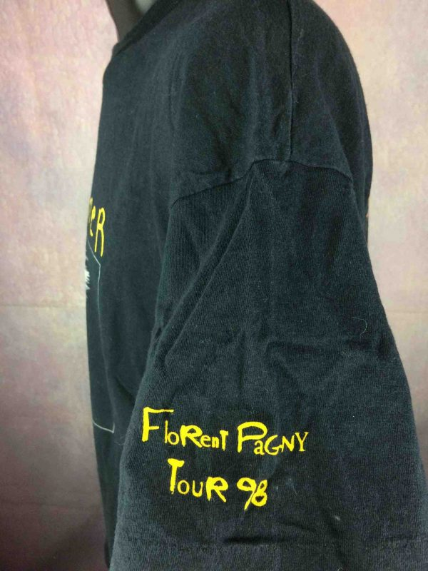 FLORENT PAGNY T Shirt Tour 1998 Savoir Aimer Gabba Vintage 4 scaled - FLORENT PAGNY T-Shirt Tour 1998 Savoir Aimer