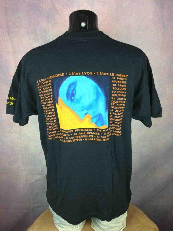 FLORENT PAGNY T Shirt Tour 1998 Savoir Aimer Gabba Vintage 5 scaled - FLORENT PAGNY T-Shirt Tour 1998 Savoir Aimer