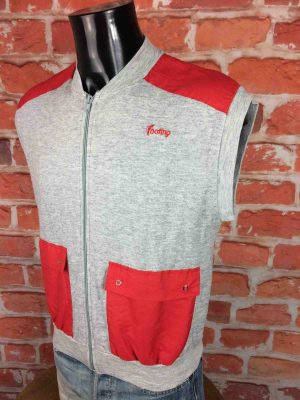 FOOTING Gilet Vintage 80s Made in France Gabba Vintage 3 scaled - FOOTING Gilet Vintage 80s Made in France