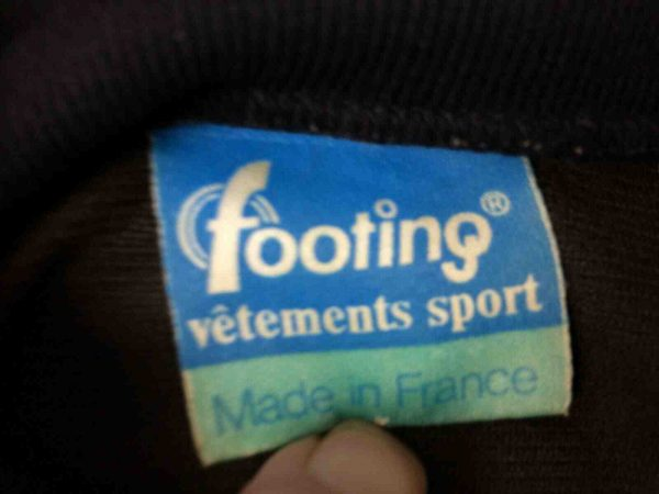 FOOTING Veste Vintage 80s Made in France S Gabba Vintage 4 - FOOTING Veste Vintage 80s Made in France S