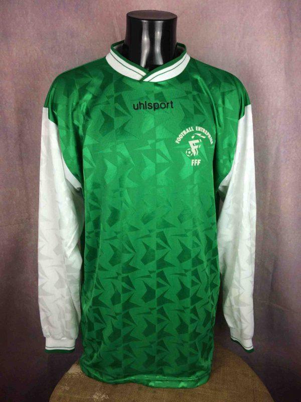 UHLSPORT Maillot vintage 90s France Football