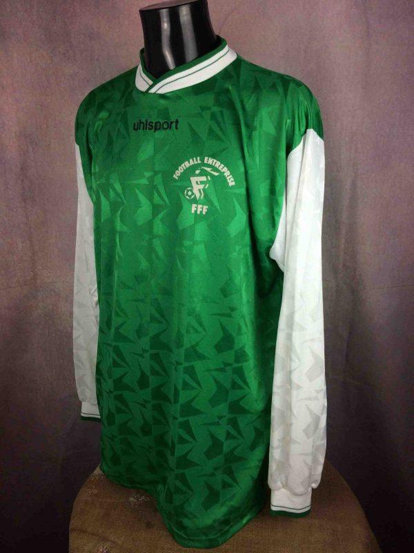 FRANCE FOOTBALL ENTREPRISE Jersey Umbro 90s Gabba Vintage 3 scaled - UHLSPORT Maillot vintage 90s France Football