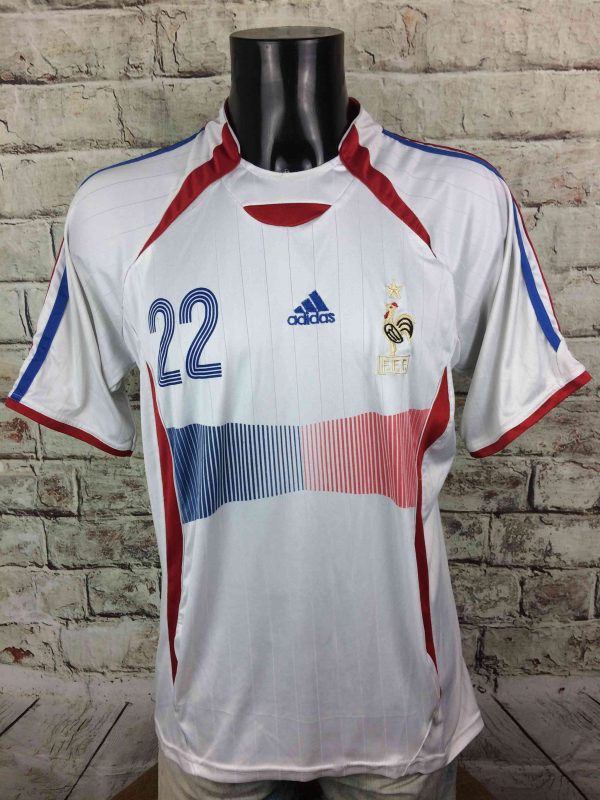 FRANCE Jersey 2006 2007 22 Riberry Replica Gabba Vintage 2 scaled - FRANCE Jersey 2006 2007 #22 Ribery Replica