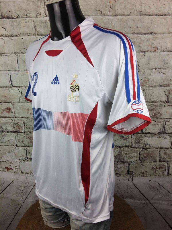 FRANCE Jersey 2006 2007 22 Riberry Replica Gabba Vintage 3 scaled - FRANCE Jersey 2006 2007 #22 Ribery Replica