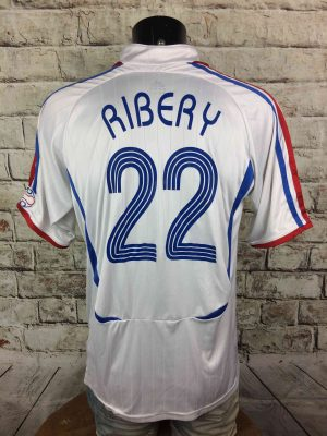 FRANCE Jersey 2006 2007 #22 Riberry Replica - Gabba Vintage