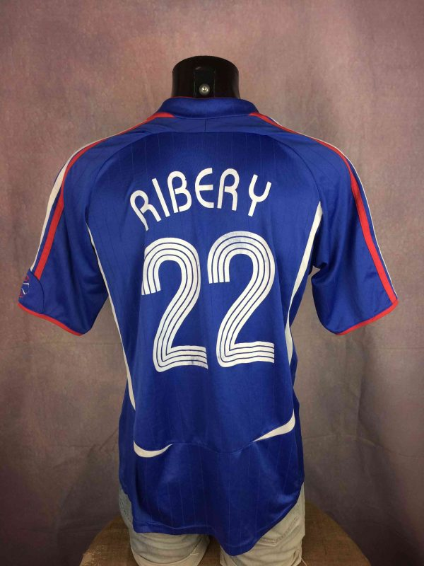 FRANCE Jersey 2006 22 Ribery FFF Replica Gabba Vintage 1 scaled - FRANCE Jersey 2006 #22 Ribery FFF Replica