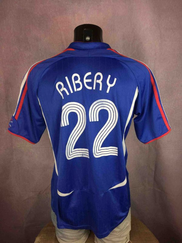 FRANCE Jersey 2006 22 Ribery FFF Replica Gabba Vintage 1 scaled - FRANCE Jersey 2006 #22 Ribery FFF Replica