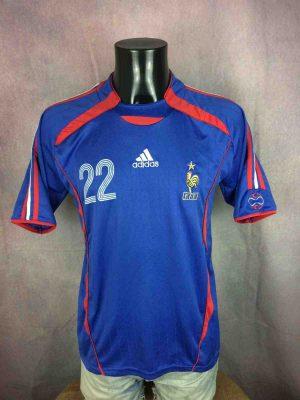 FRANCE Jersey 2006 #22 Ribery FFF Replica - Gabba Vintage