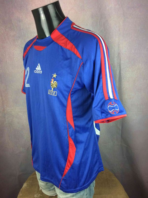 FRANCE Jersey 2006 22 Ribery FFF Replica Gabba Vintage 3 scaled - FRANCE Jersey 2006 #22 Ribery FFF Replica