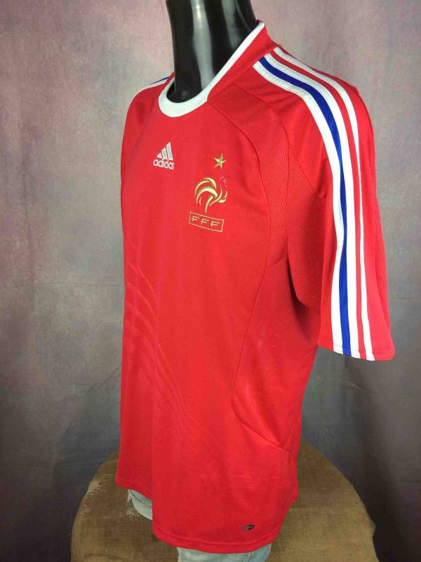FRANCE Jersey Adidas Away 2008 2009 FFF Euro Gabba Vintage 3 scaled - FRANCE Maillot Adidas Away 2008 FFF Euro Foot