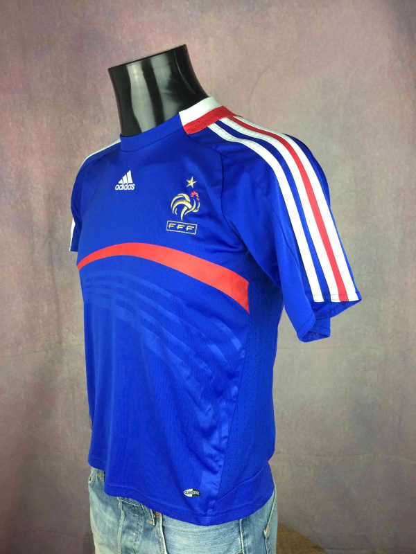 FRANCE Jersey Adidas Home 2007 2008 FFF Gabba Vintage 3 scaled - FRANCE Jersey Adidas Home 2007 2008 FFF