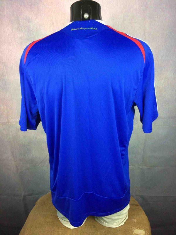 FRANCE Jersey Adidas Home 2007 2008 FFF L Gabba Vintage 5 scaled - FRANCE Maillot Adidas Home 2007 2008 FFF Foot