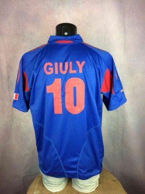 FRANCE Jersey Vintage #10 Giuly FFF Replica - Gabba Vintage