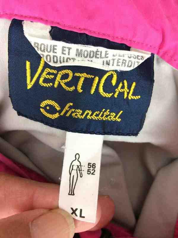FRANCITAL Vertical Veste Vintage 90s France Gabba Vintage 5 - Veste Vintage FRANCITAL Années 90s Série Vertical Waterproof Windproof France Unisexe