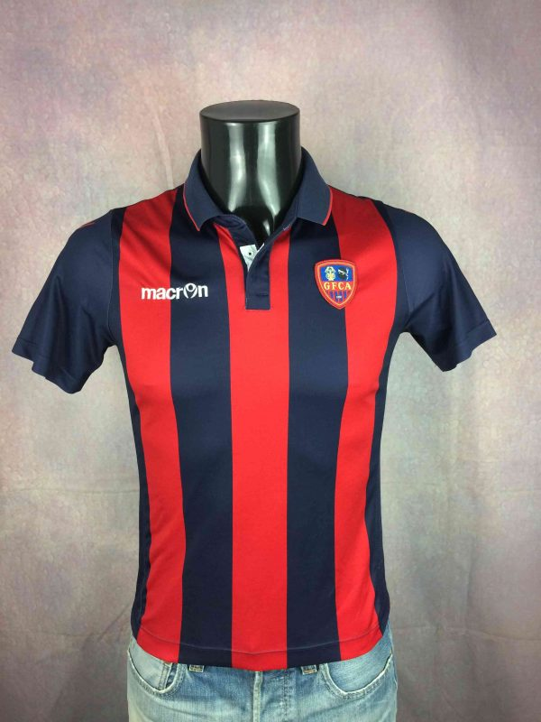 GAZÉLEC Football Club Ajaccio Jersey Macron - Gabba Vintage