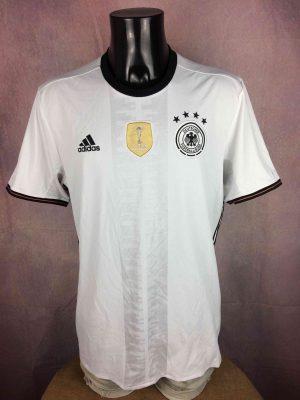 GERMANY Jersey Home 2016 2017 Adidas Euro - Gabba Vintage