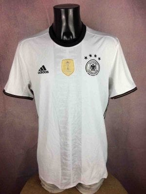 GERMANY Jersey Home 2016 2017 Adidas Euro - Gabba Vintage