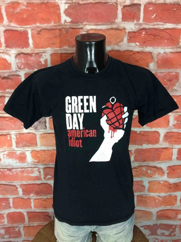 GREEN DAY T Shirt American Idiot True Vintage 00s Punk Rock Charts Hits Grenade 2 scaled - GREEN DAY T-Shirt American Idiot Vintage 00s