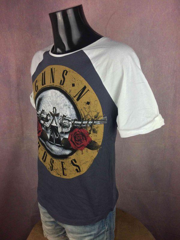 GUNS N ROSES T Shirt 2013 Official Baseball Gabba Vintage 3 scaled - GUNS N ROSES T-Shirt 2013 Official Baseball