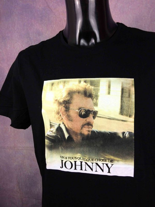 HALLYDAY T Shirt Quelque Chose De Johnny Gabba Vintage 2 scaled - HALLYDAY T-Shirt Quelque Chose De Johnny