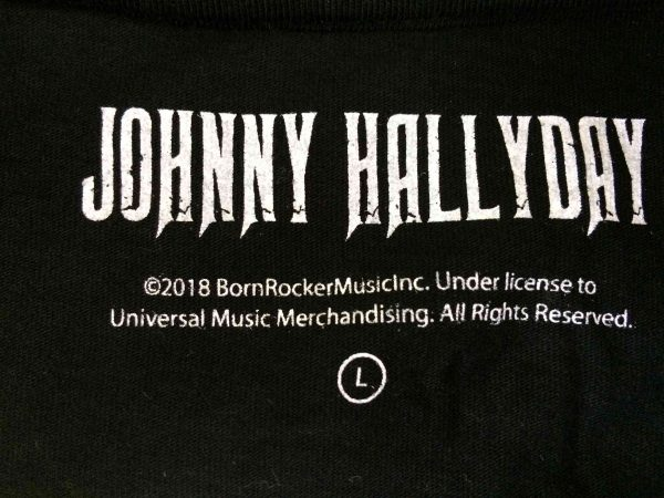 HALLYDAY T Shirt Quelque Chose De Johnny Gabba Vintage 4 scaled - HALLYDAY T-Shirt Quelque Chose De Johnny