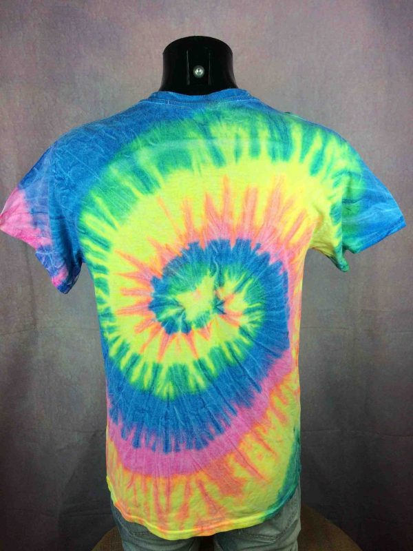 HARDCORE JUSQUA LA MORT T Shirt Tie Dye Platine Gabber Dubplate Sound System DJ Gabba Vintage 1 scaled - HARDCORE JUSQU'À LA MORT T-Shirt Tie Dye