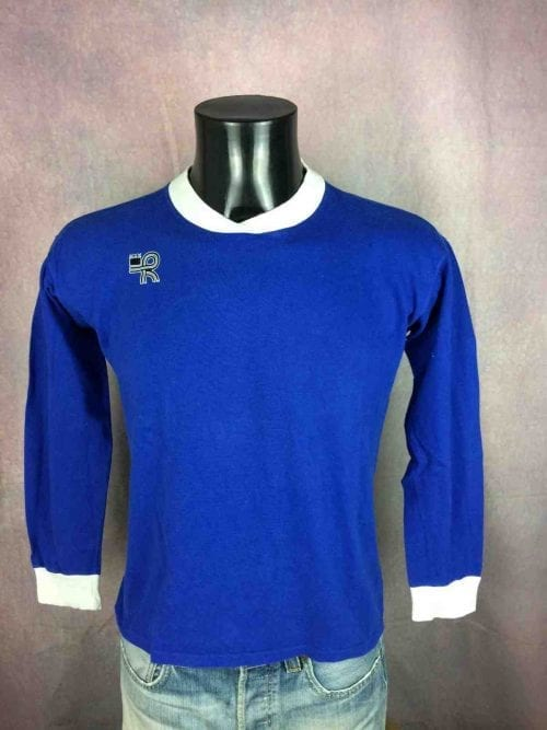 Maillot KOPA HEURTEFEU, Véritable vintage années 80, Made in France, 100% Coton, Jersey Trikot Camiseta Football