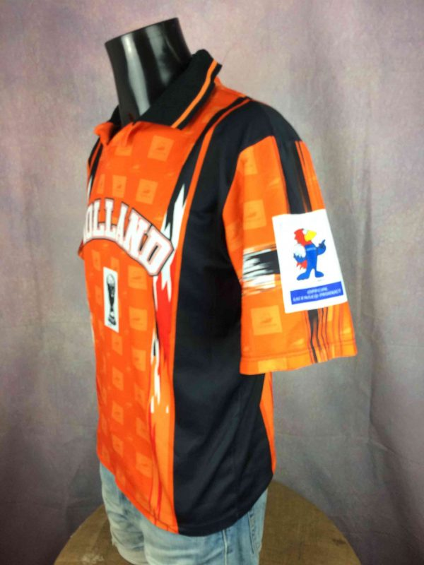 HOLLAND Jersey World Cup 98 Vintage Official Gabba Vintage 3 scaled - HOLLAND Jersey World Cup 98 Vintage Official