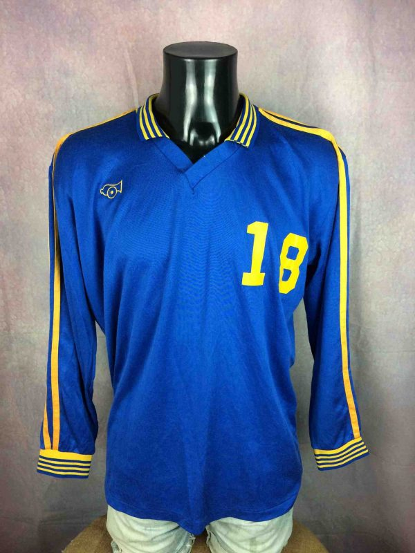 HOUSATONIC Jersey Cannon VTG 80s Made in USA Gabba Vintage 1 scaled - HOUSATONIC Maillot Vintage 80s USA Football