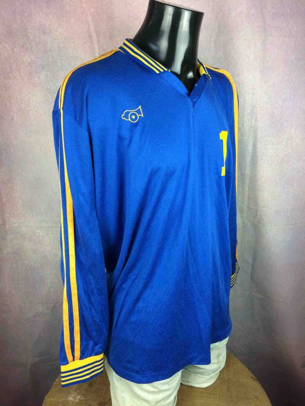 HOUSATONIC Jersey Cannon VTG 80s Made in USA Gabba Vintage 2 scaled - HOUSATONIC Maillot Vintage 80s USA Football