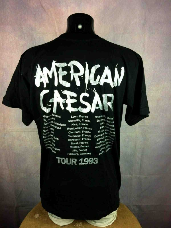 IGGY POP T Shirt American Caesar Tour 1993 Gabba Vintage 2 - IGGY POP T-Shirt American Caesar Tour 1993