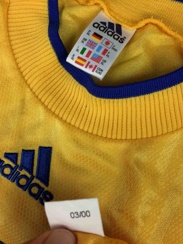 IMG 3919 compressed scaled - ADIDAS Maillot Vintage 2000 Made in England
