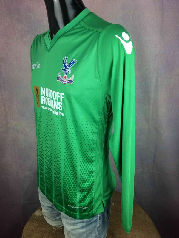 IMG 3921 compressed scaled - CRYSTAL PALACE Jersey Nordoff Robbins Macron